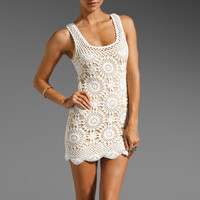 Eternal Sunshine Creations Wildflower Tank Mini Dress in Ivory from REVOLVEclothing.com