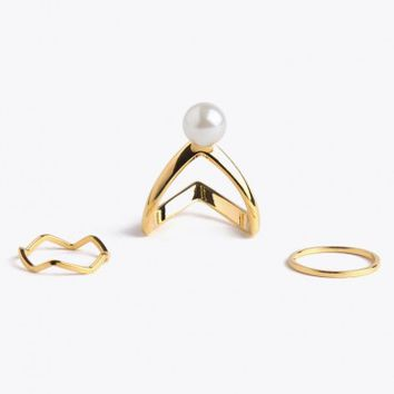Running Waters Ring Set
