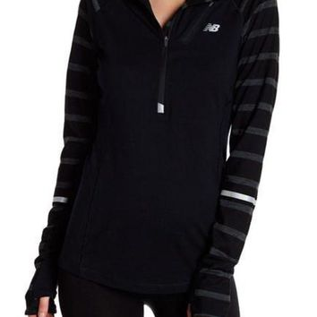 DCCK1IN new balance performance wool blend half zip pullover nordstrom rack
