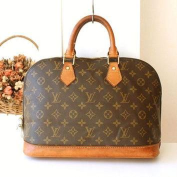 DCCK Louis Vuitton bag Vintage LV monogramed Purse Louis Vuitton Alma handbag