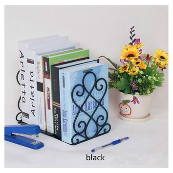 1 Pcs Classical Bookends Bookshelf Bookcase School Supplies Decor