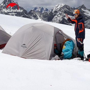 Naturehike 3 Person Camping Tent Outdoor ultralight 3 Man Large Camp Tents