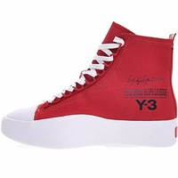 "2018 Y-3 Bashyo Trainer Boots ""Red&White""AC7519"