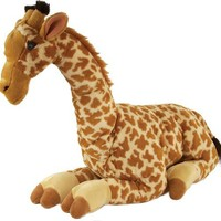 Stuffed Giraffe Cuddlekin 30in Jumbo Plush