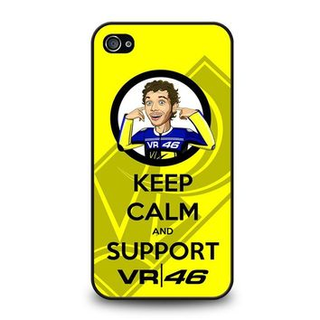 SUPPORT VALENTINO ROSSI 46 iPhone 4 / 4S Case Cover