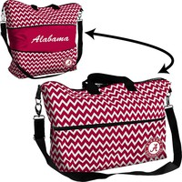 Logo Chair Alabama Crimson Tide Chevron Expandable Tote