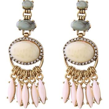 Hint of Pink Earrings
