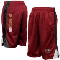 San Francisco 49ers Preschool Mesh Shorts - Scarlet