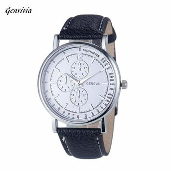 Geneva Fashion Unisex Diamond Quartz Watch