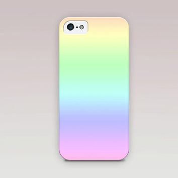 Ombre Rainbow Phone Case For - iPhone 6 Case - iPhone 5 Case - iPhone 4 Case - Samsung S4 Case
