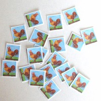 Stickers With Chickens,20 Stickers,Decals,Laminated Stickers,Laptop Stickers,Phone Stickers