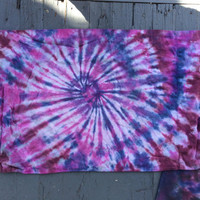 READY TO SHIP- tie dye pillow case