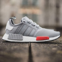 """Adidas"" NMD Trending Fashion Casual Sports Sneakers Shoes Grey"