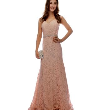 Bailey- Pink Prom Dress