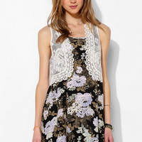 Pins And Needles Sweet Lace Vest - Urban Outfitters