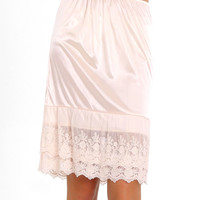 Skirt Extender Slip - Blush