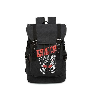 Anime Backpack School Japanese kawaii cute Dragon Ball Z Backpack Totoro Attack On Titan Tokyo Ghoul One Piece Naruto For Teenagers Sac A Dos AT_60_4