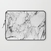 Marble Laptop Sleeve by Mathias Thorgaard