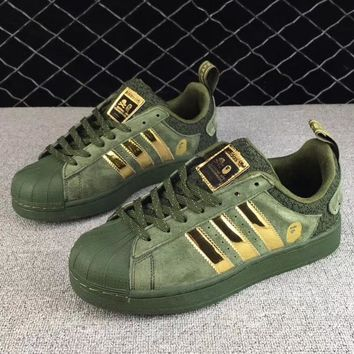 BAPE x NBHD x Adidas Fashion Old Skool Sneakers Sport Shoes-1