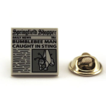 Newspaper sting operation report Tie Pin, Tie Tack Pin, Men's Tie Tacks, Tie Tac, Silver Tie Clip, Tie Clips Men, Wedding Clip, Tie Tack