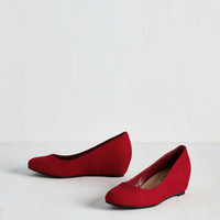 Minimal Model of Modesty Wedge in Red