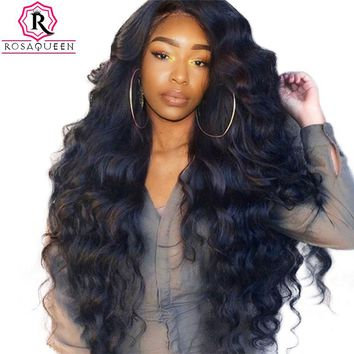 250% Density Lace Front Human Hair Wigs