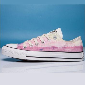 CREYUG7 Converse Print All Star Sneakers for Unisex Hight tops sports Leisure Comfort Shoes Pi