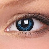 Cool Blue Bigger Eyes Colour Contact Lenses, Cool Blue Bigger Eyes Contacts | EyesBright.com