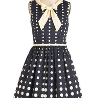 Bea & Dot 60s Mid-length Sleeveless A-line Peppy Personality Dress