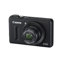 Canon PowerShot S100 12.1 MP Digital Camera with 5x Wide-Angle Optical Image Stabilized Zoom (Black) (OLD MODEL)