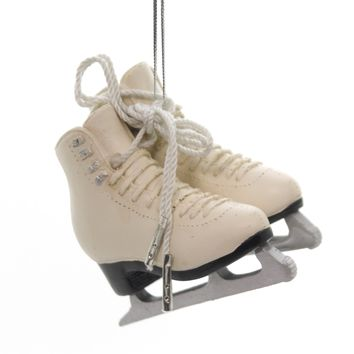 Holiday Ornaments FIGURE SKATE Polyresin Christmas Ice 988794