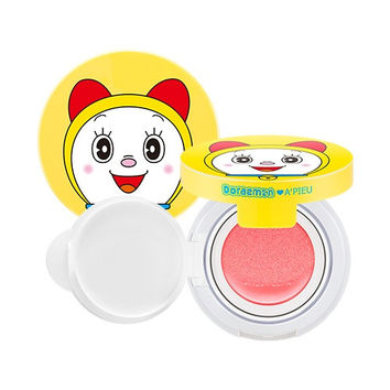 A'PIEU AIR-FIT Cushion Blusher DORAEMON EDITION PK01 PINK BLUSHER