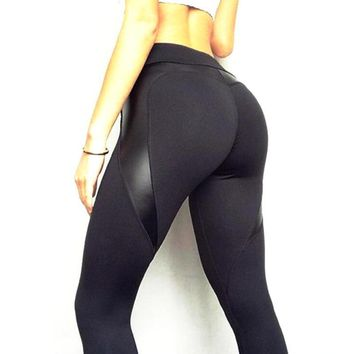 Heart Shape Push Up Workout Leggings