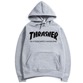 Pullover Hats Hoodies Alphabet Print Jacket [10772407939]