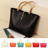 Fashion Women Cute Casual Lady Purse Handbag Tote Shoulder Messenger Case Bag = 1705896836