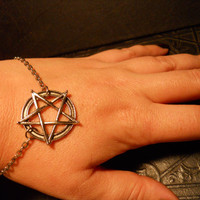 The Good Witch Pentagram White Magic Talisman by TheCuriositeer