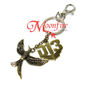 THE HUNGER GAMES: MOCKINGJAY PART 2 District 13 Charm Keychain