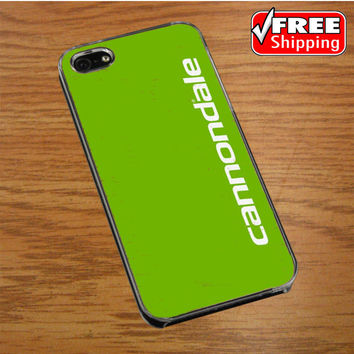 Cannondale Bike Team Bicycle Cycling Logo IPHONE 5 | 5S COVER CASE