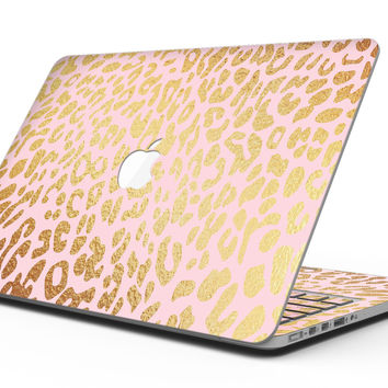 Pink Gold Flaked Animal v3 - MacBook Pro with Retina Display Full-Coverage Skin Kit
