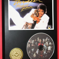Michael Jackson LTD Edition Picture Disc CD Display ONLY 500 Made Music Memorabilia