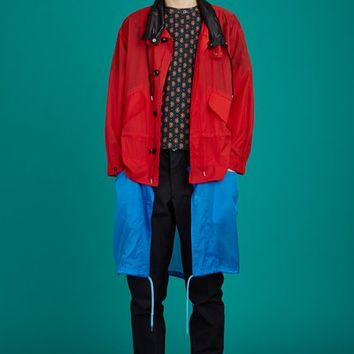 Toga Virilis Layered Nylon Coat - MEN - JUST IN - Toga Virilis - OPENING CEREMONY