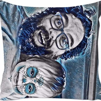 ROCP Tallulah and Morgan Day of the Dead Couch Pillow
