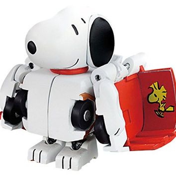Takara Tomy Choro-Q Transformers Q-Collaboration QTC-05 Peanuts Snoopy Action Figure