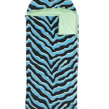 Mint Tiger Hooded Sleeping Bag | Girls Bedding & Pillows Room Decor | Shop Justice