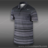 nike mens polo shirt, Nike Rally Sphere Stripe Polo 547122-010, Midwest Sports