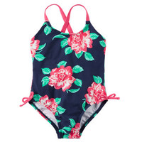 Carter's Floral Swimsuit
