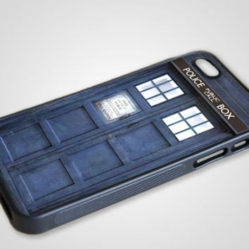 Tardis iPhone Case Silicone 5 4 4S Doctor Who BBC Matt Smith Apple Geek