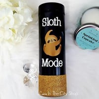 Sloth Coffee Travel Tumbler