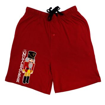 The Nutcracker with Text Adult Lounge Shorts by