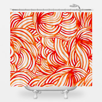 A Maze of Grace Shower Curtain